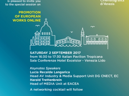 infosessie 2 september Venice