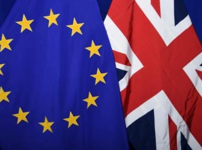 Brexit vlaggen
