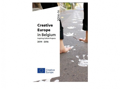 Brochure Creative Europe in Begium 2014 2016