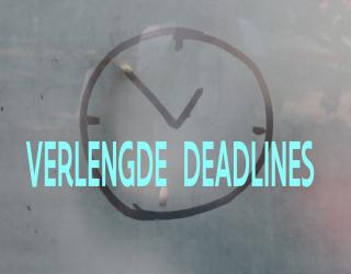 Verlengde deadlines