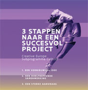 cover flyer 3 Stappen naar een succesvol project