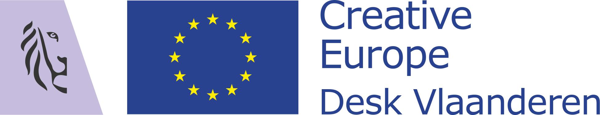 Logo Creative Europe Desk Vlaanderen